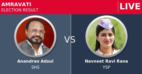 Amravati MP (Lok Sabha) Election Results 2019 Live